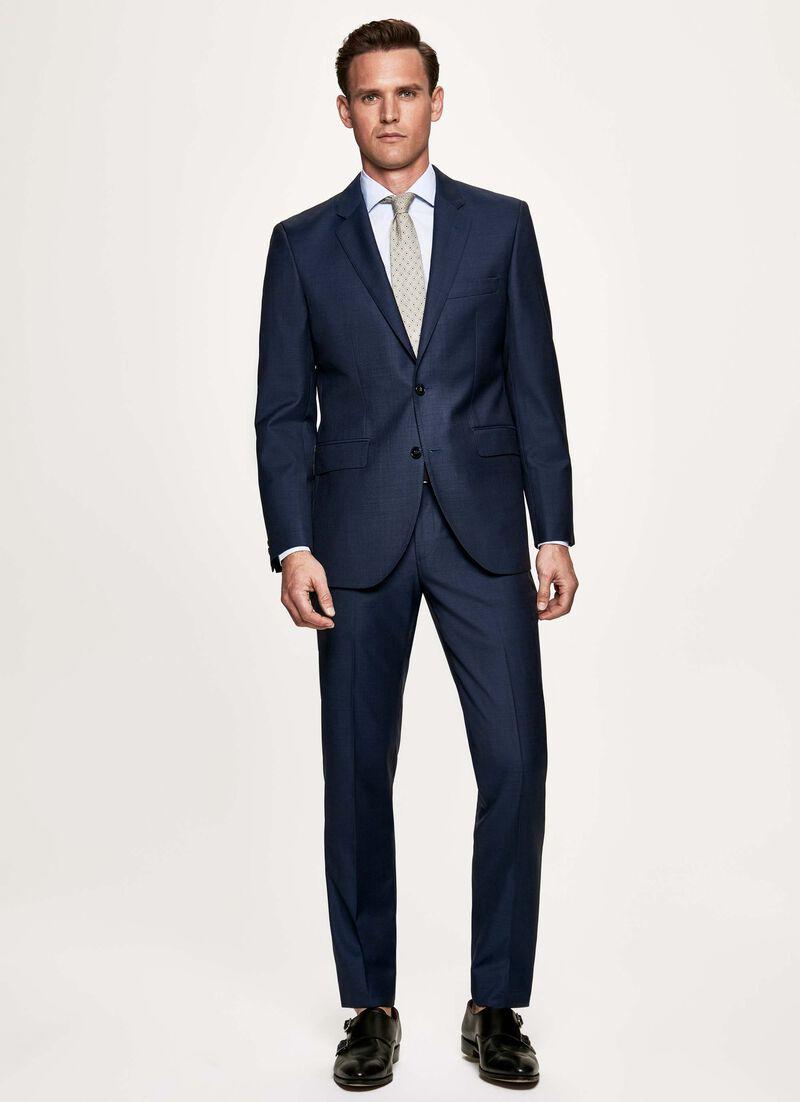 b9869afb27 Sharkskin wool suit
