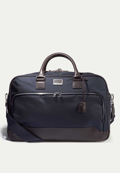 f95f1254f Leather n2 utility carry-all, NAVY, large. Hackett London. Leather ...