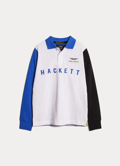 64efc3b7bef Aston Martin Racing Boy's Polo & Rugby Shirts: 9-16 Years | Hackett