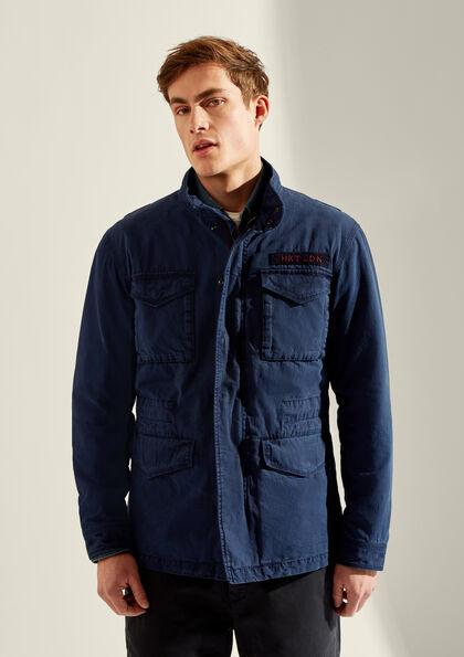 HKT by Hackett Mens Hkt GMD Strch Twill Db Suit Jacket