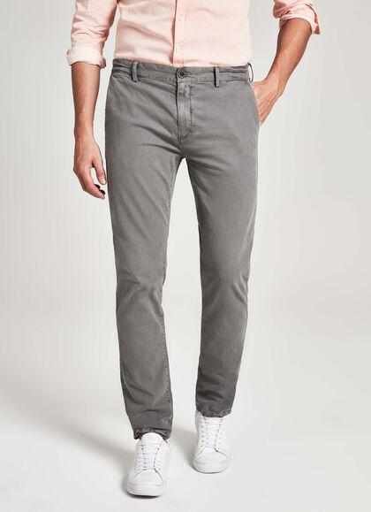 cb1168427b998 Ultra-light denim jeans, DENIM, swatch · Camberwell loose fit stretch  cotton chino trousers, SMOKE, large