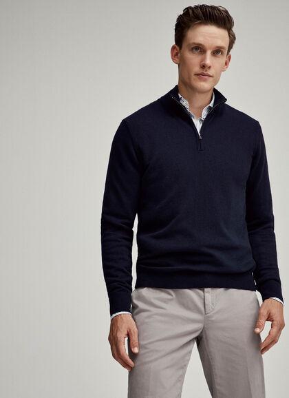 Wonderbaarlijk Men's Knitwear: Wool, Merino & Cashmere | Hackett UO-17