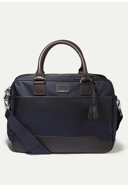 94833b98c Leather n2 utility laptop case, NAVY, large. Hackett London. Leather n2  utility laptop case