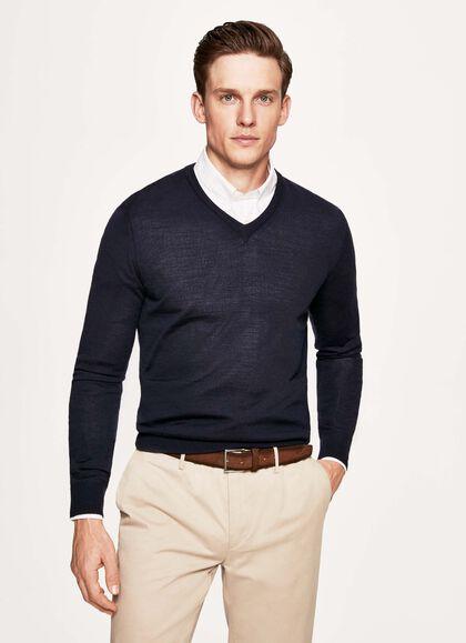 Verrassend Men's Knitwear: Wool, Merino & Cashmere | Hackett XJ-74