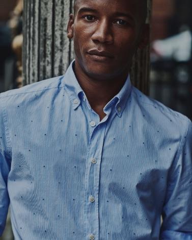 Hackett blue Men Shirt