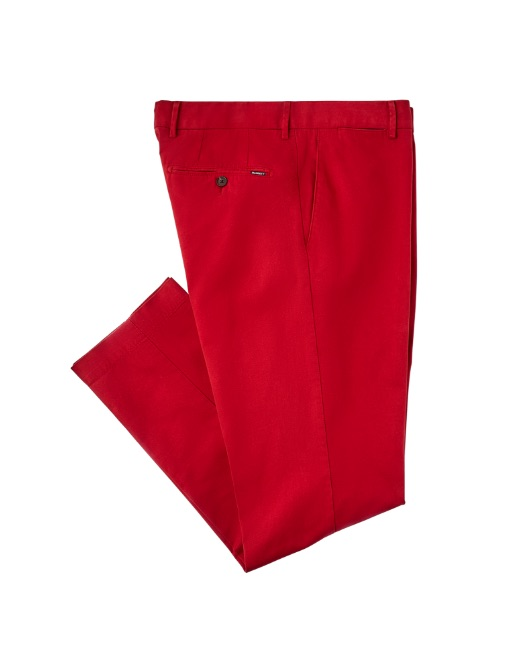 Sanderson Fit Cotton Chino Trousers