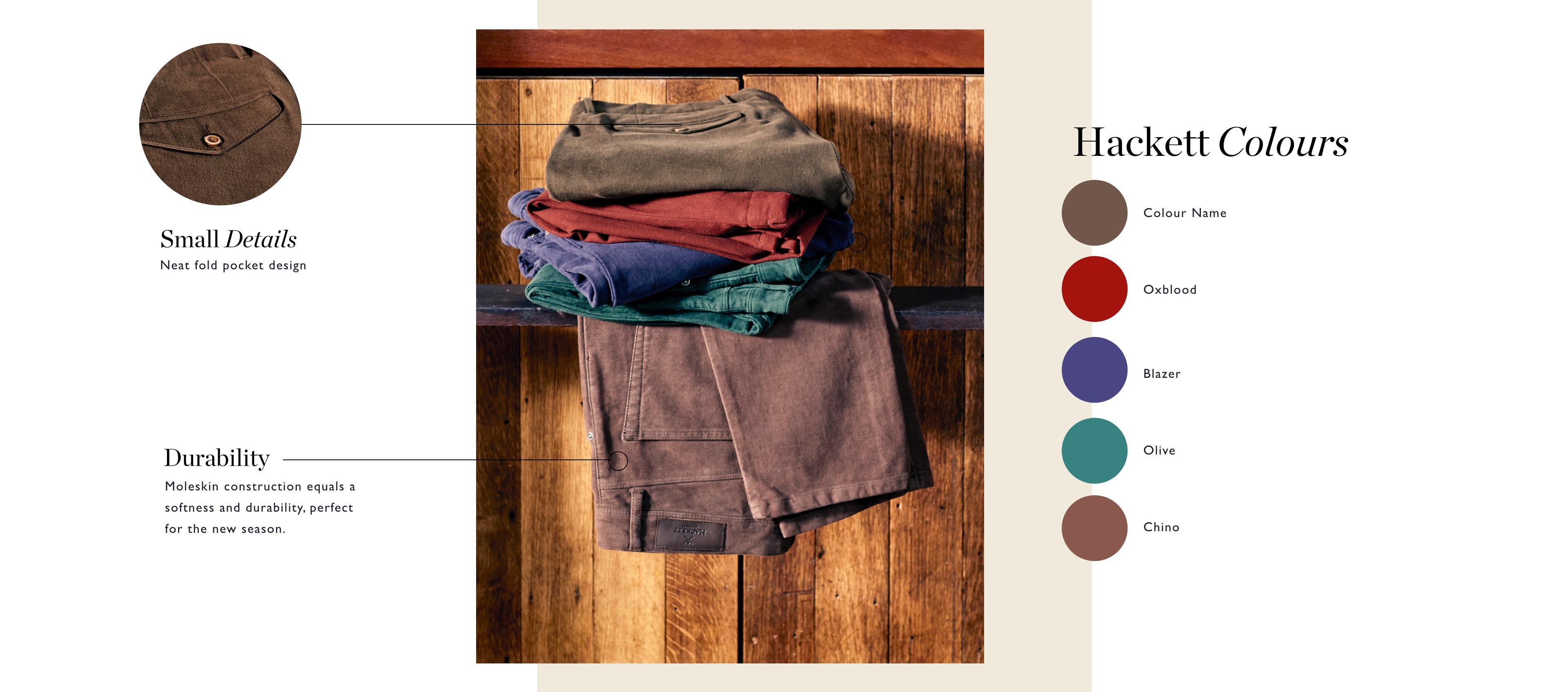 Hackett British Trouser