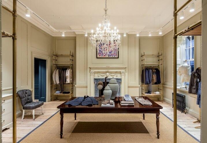 Hackett fashion brand at No.14 Savile Row: Inside No.14