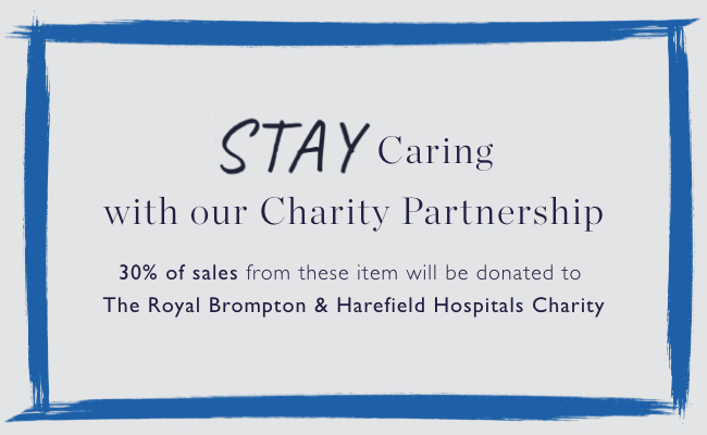Stay Caring with our charity partnership