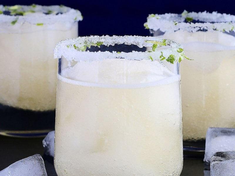 The Hack Winter Cocktails - Sparkling Ginger Margarita