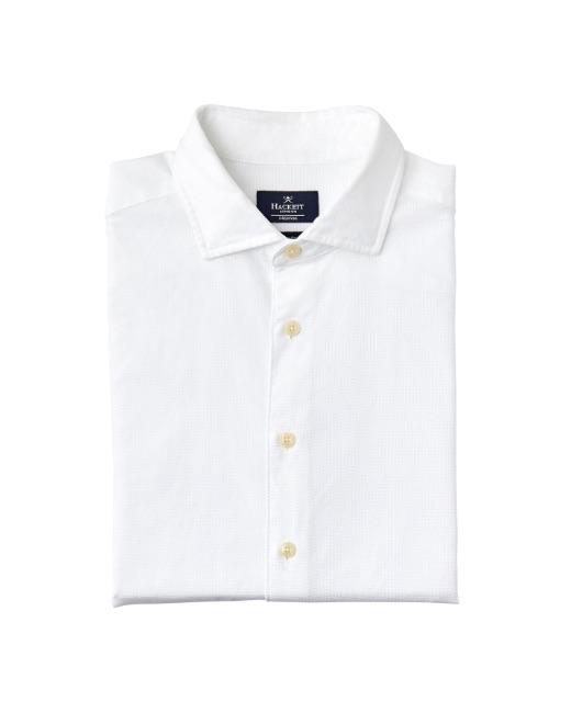 Brushed Giro Inglese Cotton Shirt