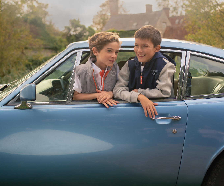 Boys Aston Martin