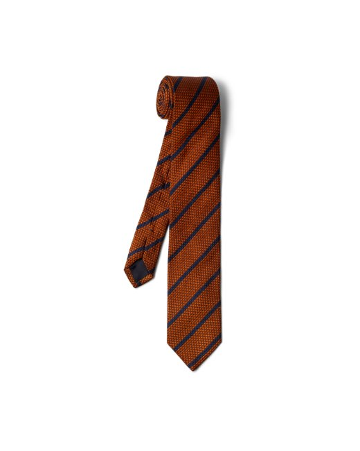 Grenadine Striped Tie