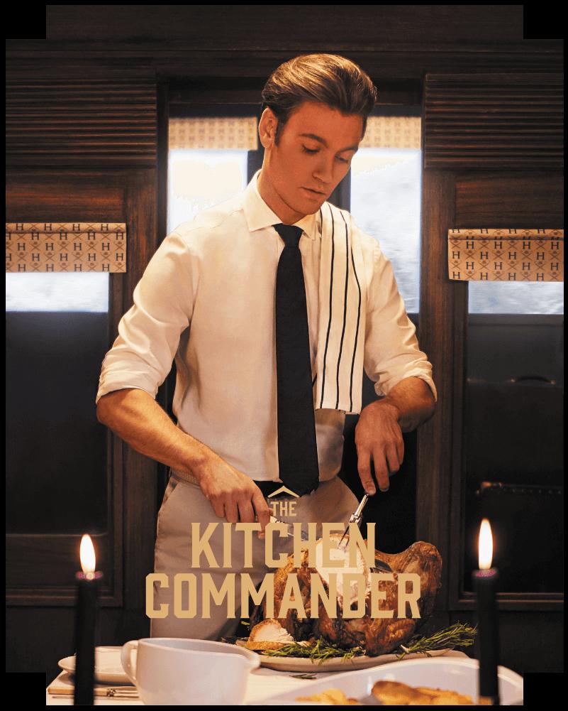 The kitchen commander