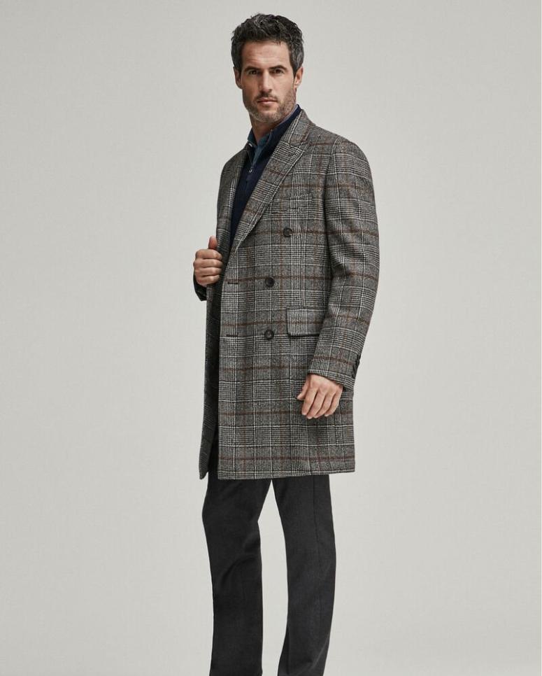 Hackett Wool Overcoat