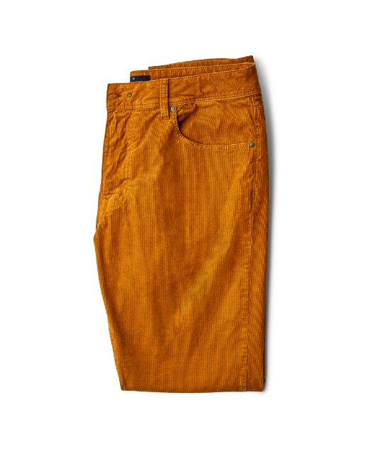 Trinity fit 5-pocket corduroy trousers