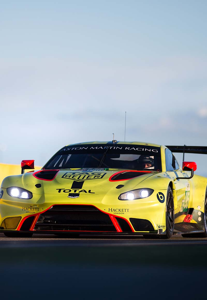 Aston Martin racing car