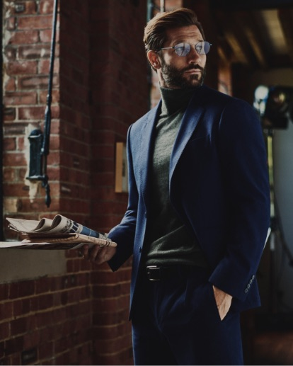 Personal Tailoring Blue Suit