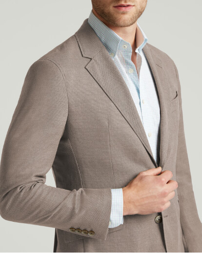 The Wool Blazer Hackett London Close Up