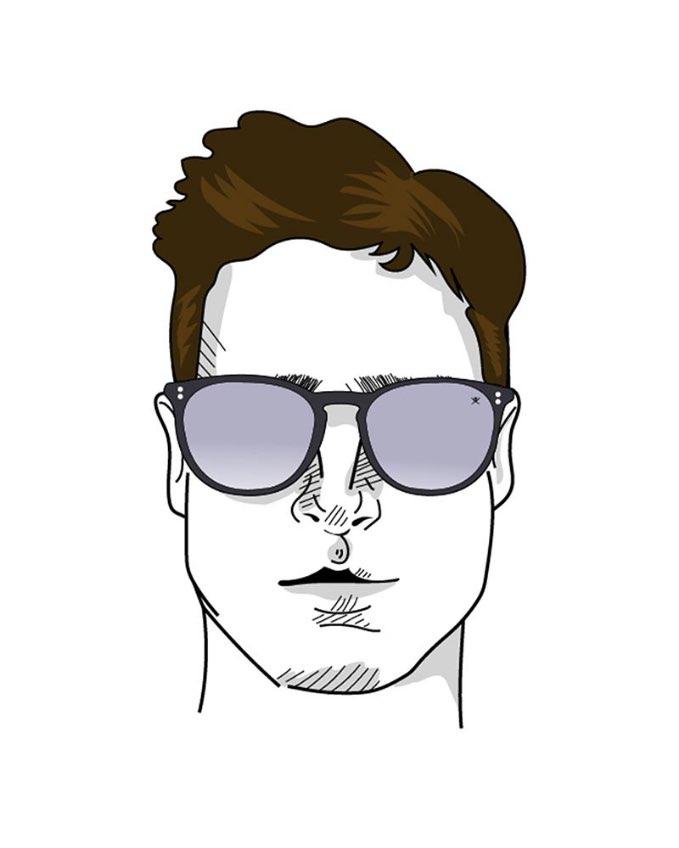 Sunglasses oval face