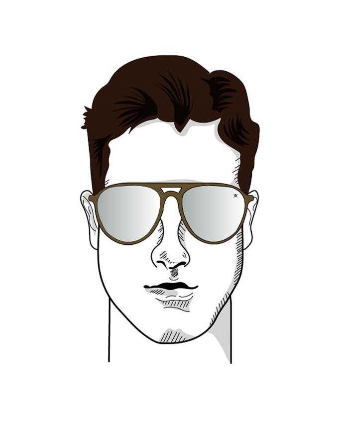Sunglasses oblong face