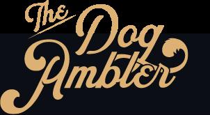 The dog ambler logo