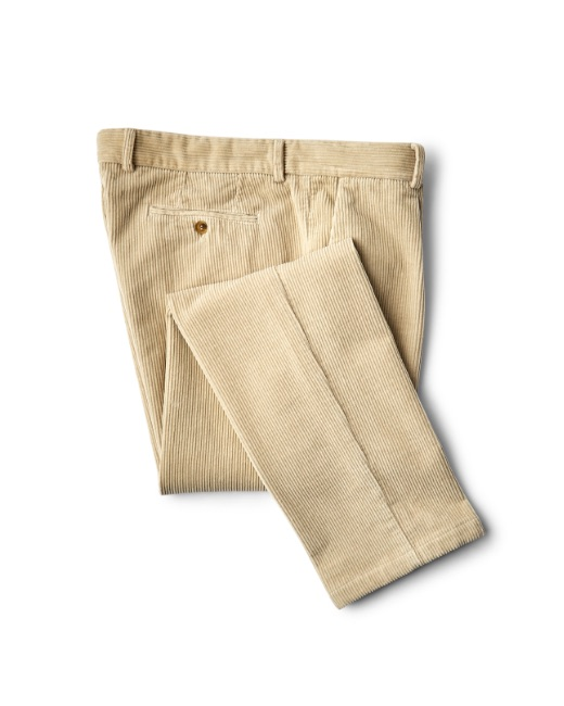Jumbo corduroy chino trousers