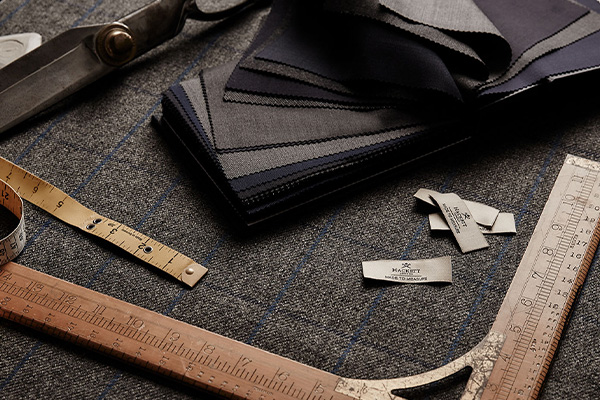 Fabric measuring tools