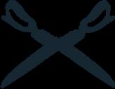 Bespoke Hackett suit logo