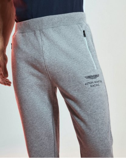 Hackett London Sweatpants Close Up Pocket Aston Martin
