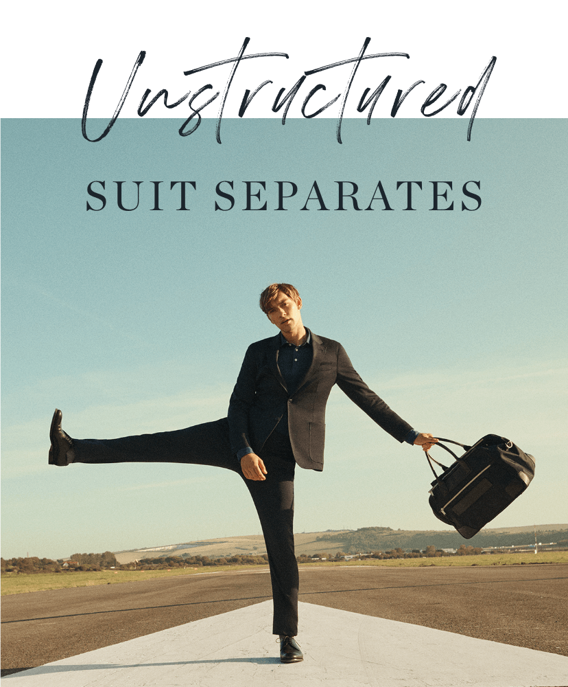 Unstructured Suit Separates