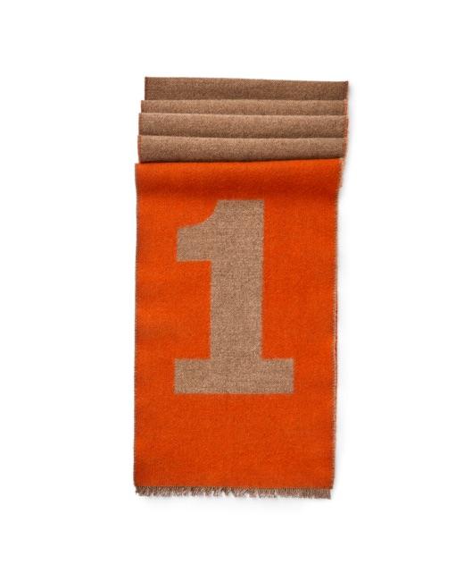 No.1 detail merino wool scarf