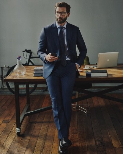 Personal Tailoring Grey Suit