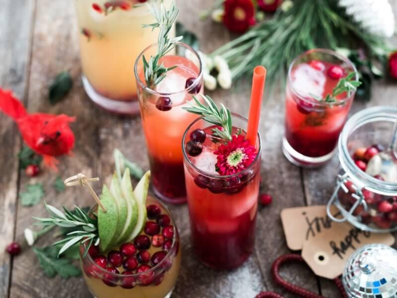 The Hack Winter Cocktails - Cranberry Pomegranate Mojito